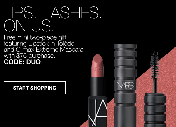 LIPS LASHES ON US - Free mini two-piece gift